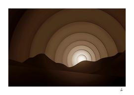 Chocolate Brown Horizon