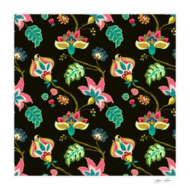 Jacobean style pattern