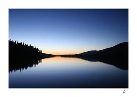 Scotland Loch Calm Blue