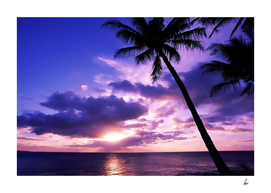 Tahiti Paradise Sunset