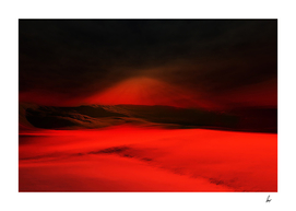 Dark Red Desert