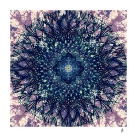 Purple Mandala II
