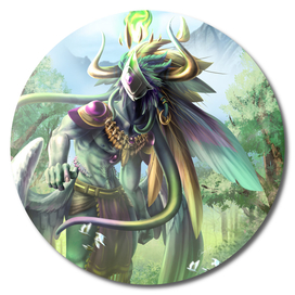 Domnu Forest Demi God