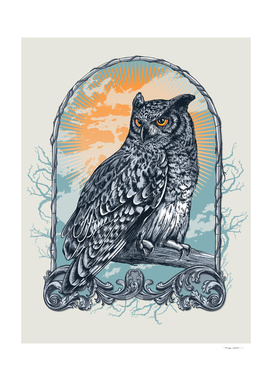 Twilight Owl