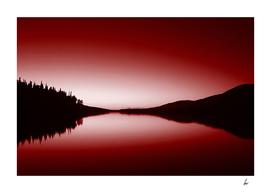 Red Loch Scotland Lake