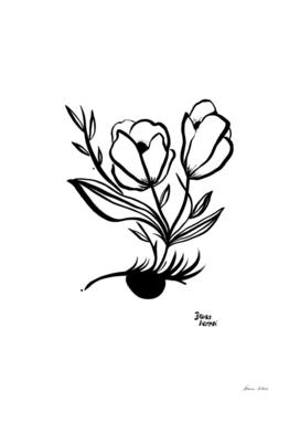 Florir no olhar
