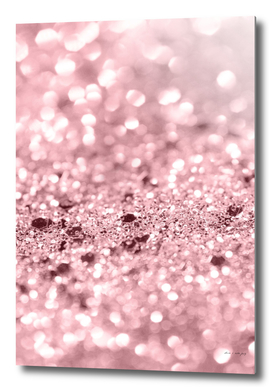 Rose Gold Blush Girls Glitter #1