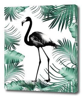 Flamingo in the Jungle #2