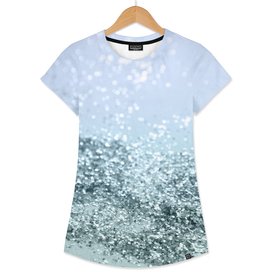 Light Seafoam Light Blue Glitter #1