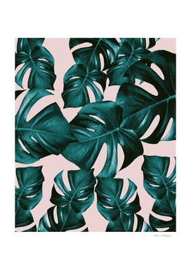Monstera Leaves Pattern #4