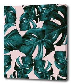Monstera Leaves Pattern #4