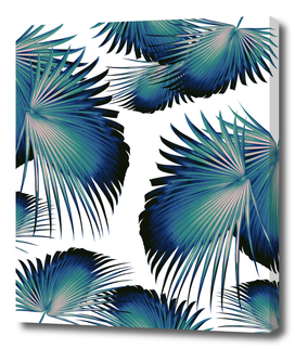 Fan Palm Leaves Paradise #1