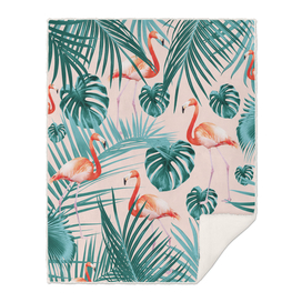Tropical Flamingo Pattern #3