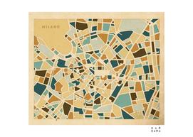 Map of Milano - Italy