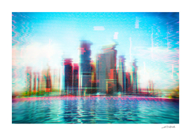 Glitch - I - Chromatic CityScape / LE