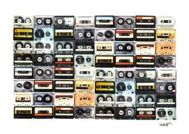 cassette print