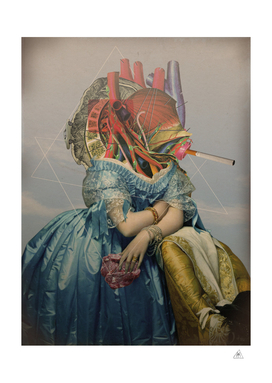 Another Portrait Disaster · the queen of flesh
