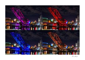 Tampa bridge work