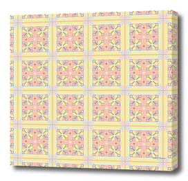 Unusual geometrical seamless pattern in the Bulgarian style