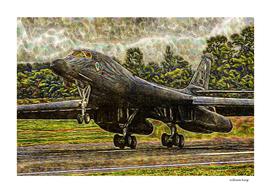 023 Rockwell B-1b Lancer