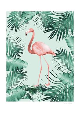 Flamingo in the Jungle #1