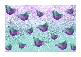 Mermaid Butterfly Glitter Dream #1