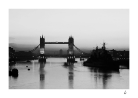 London Tower Bridge HMS Belfast