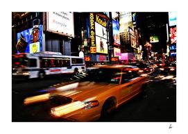Broadway Yellow Cab NYC
