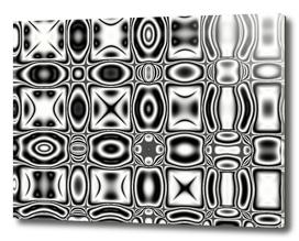 Black and White Pop Art