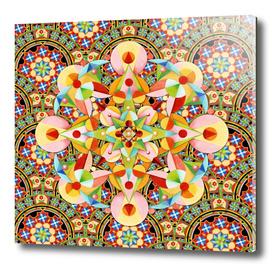 Playing Card Mandala