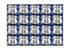 Route 66 pop art