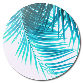 Palm Leaves Turquoise Summer Vibes #1