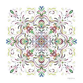 Mandala flower 1