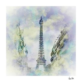 Parisian Flair | jazzy watercolor