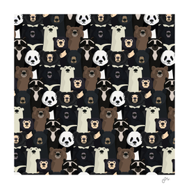 Bears of the world pattern