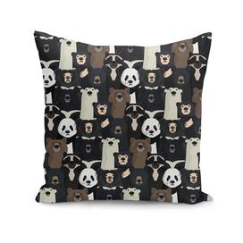 Bears of the world pattern