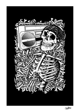 Boombox Skull