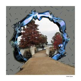 Lake Wendouree Framed