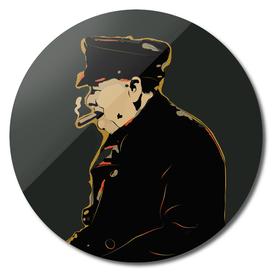 Winston Churchill Pop Art Quote