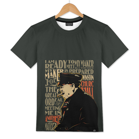 Winston Churchill Pop Art Quote