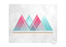 Geometric abstract indigenous symbol