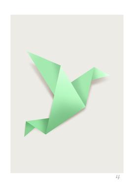 Origami Mint Green