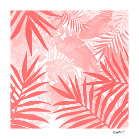 Elegant Tropical Blush Paradise