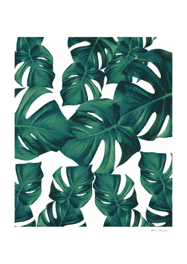 Monstera Leaves Pattern #3
