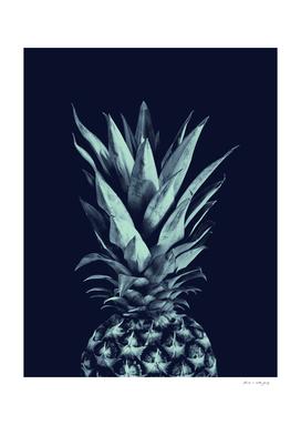 Navy Blue Pineapple Dream #1