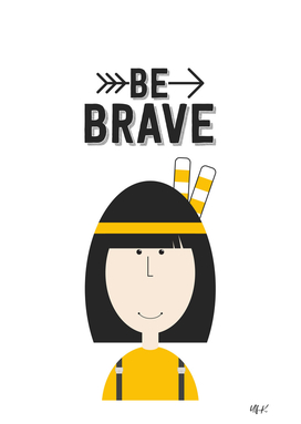 "That's Emma ""Be Brave"" • Colorful Illustration"