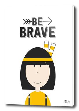 "That's Emma ""Be Brave"" • Colorful Illustration"