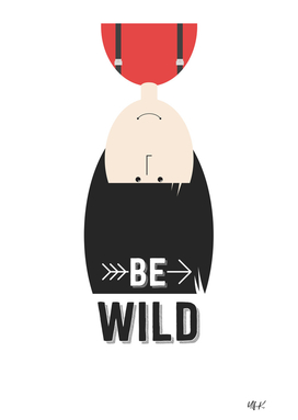 "That's Emma ""Be Wild"" • Colorful Illustration"