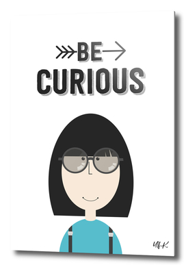 "That's Emma ""Be Curious"" • Colorful Illustration"