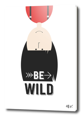 """That's Emma """"Be Wild"""" • Colorful Illustration"""